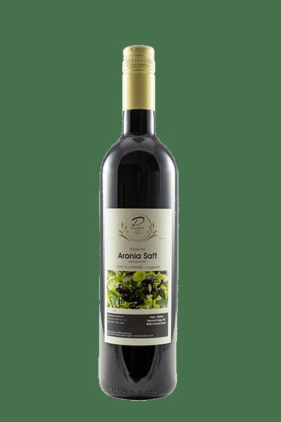 Aronia Saft vom Weingut und Obstbau