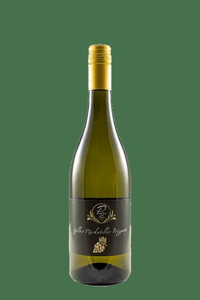 Gelber Muskateller Frizzante vom Weingut und Obstbau