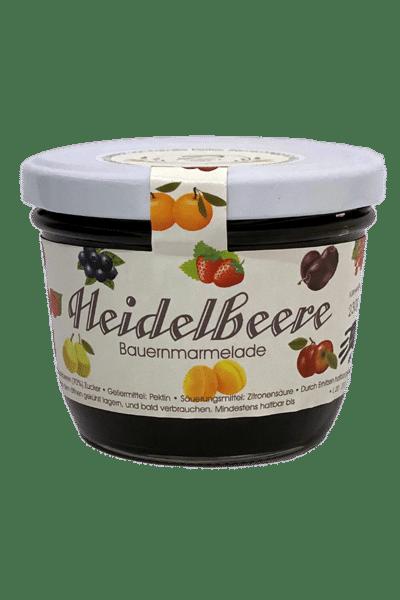 Heidelbeer Marmelade -Weingut und Obsthof Peitler Monti aus Leutschach in der Südsteiermark