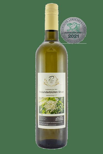Hollunderblütensirup - Weingut und Obsthof Peitler Monti aus Leutschach in der Südsteiermark