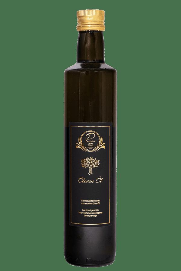 Olivenöl vom Weingut und Obsthof Peitler Monti aus Leutschach in der Südsteiermark