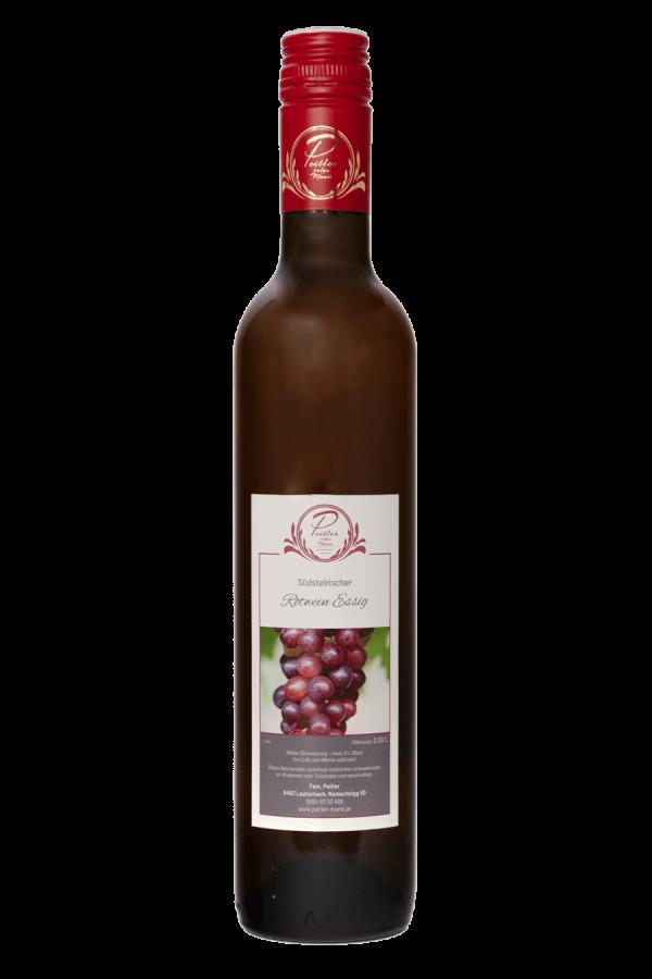 Rotwein Essig - Weingut und Obsthof Peitler Monti aus Leutschach in der Südsteiermark