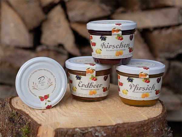 Marmeladen, Konfitüre - Weingut und Obsthof Peitler Monti aus Leutschach in der Südsteiermark